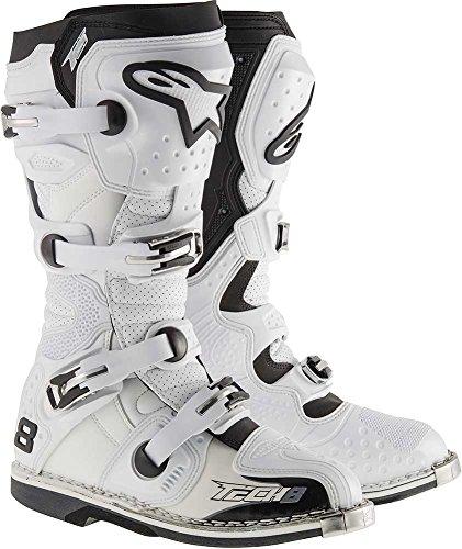 Alpinestars Tech 8 RS Boots-White-13
