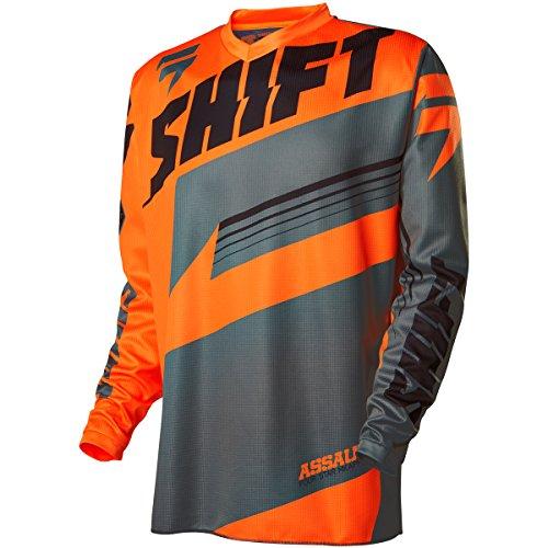 Shift Racing Assault Youth Boys MX Motorcycle Jerseys - Orange  X-Large