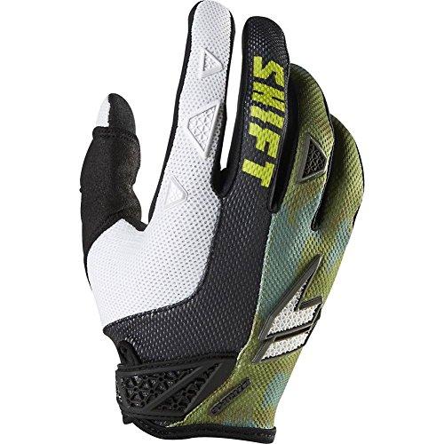 Shift Racing Strike Army Mens Dirt Bike Motorcycle Gloves - Camo  Small