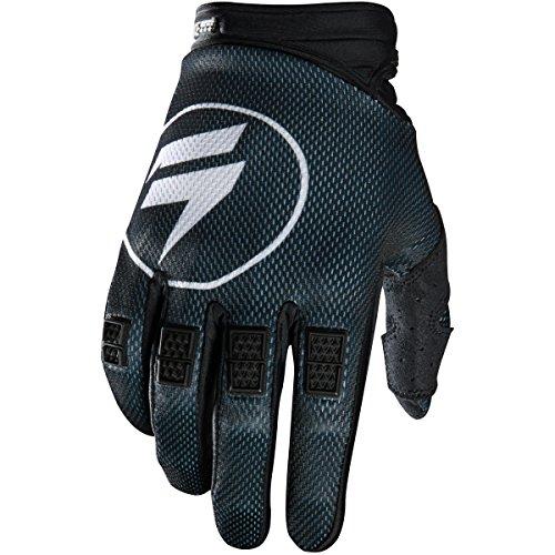 Shift Racing Strike Mens Dirt Bike Motorcycle Gloves - Black  Medium
