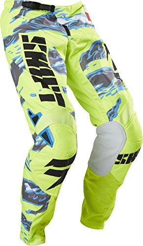 Shift Racing Strike Mens Off-Road Motorcycle Pants - Yellow Camo  Size 34