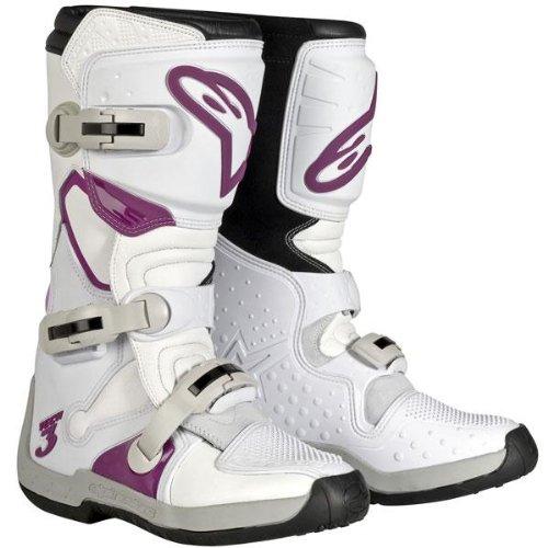 Alpinestars Womens Stella Tech 3 Boots - 6WhiteViolet