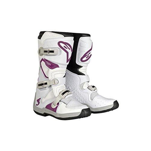 Alpinestars Womens Stella Tech 3 Boots-WhitePurple-9
