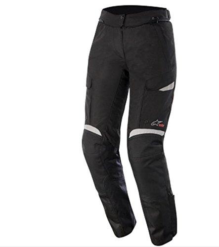 Alpinestars Stella Bogota Drystar Womens Pants Gender MensUnisex Primary Color Black Size XL Distinct Name BlackGray 3237015-102-XL
