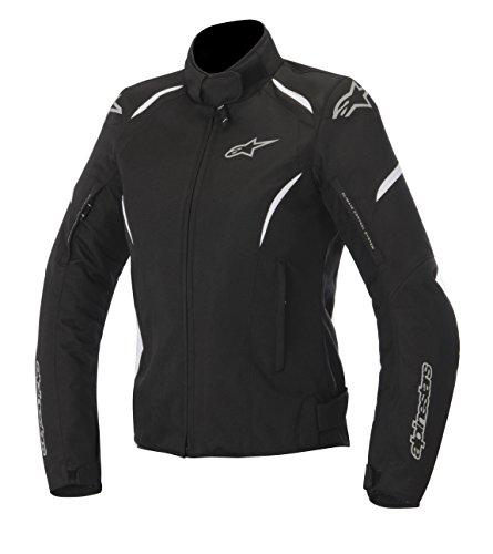 Alpinestars Stella Gunner Waterproof Womens Jacket Primary Color Black Size Md Apparel Material Textile Distinct Name BlackWhite Gender Womens 3216815-12-M
