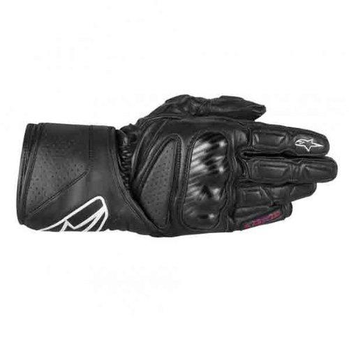 Alpinestars Stella SP-8 Womens Gloves  Gender Womens Apparel Material Leather Distinct Name Black Primary Color Black Size Sm 3518313-10-S
