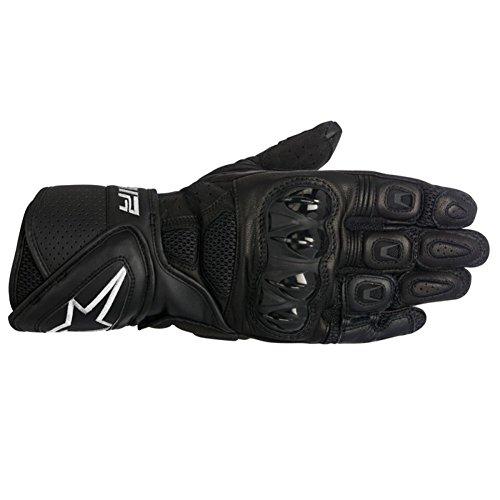 Alpinestars Stella SP Air Womens Leather Motorcycle Gloves - Black - Large