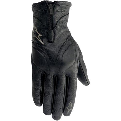 Alpinestars Stella Vika Womens Leather On-Road Racing Motorcycle Gloves - Black  Large