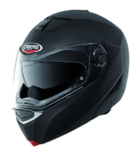 CABERG MODUS MATT BLACK FLIP FRONT MOTORCYCLE HELMET new M