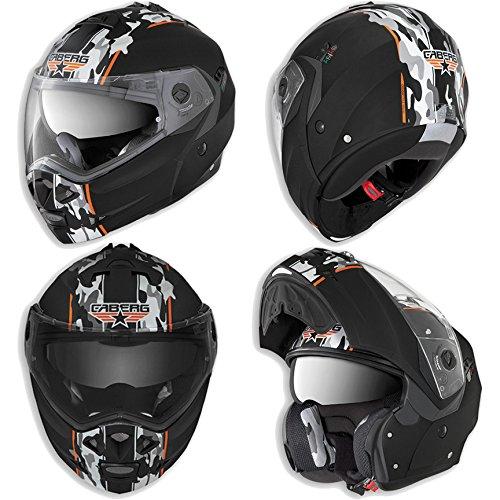 Caberg Duke Commander Flip Up Motorcycle Helmet Small 55-56 cm