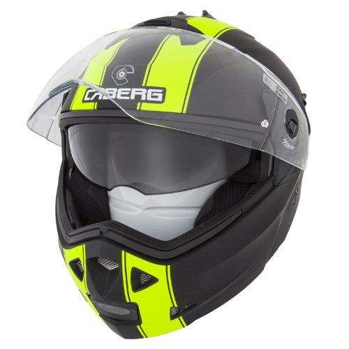 Caberg Duke Flip Up DVS Touring Motorcycle Helmet - Legend BlackFluo M