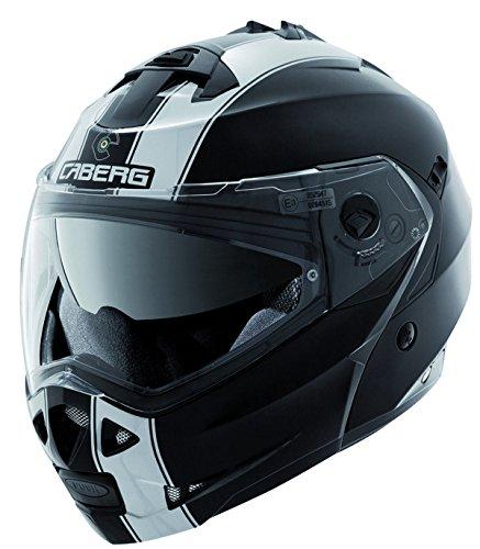 Caberg Duke Flip Up DVS Touring Motorcycle Helmet - Legend BlackWhite L