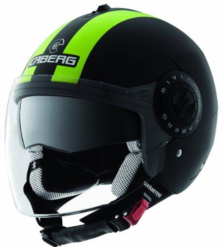 Caberg Riviera V2 Legend Hi-Vizion Motorcycle Helmet