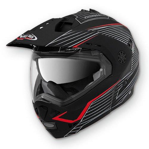 Caberg Tourmax Sonic Matt Black Red Motorcycle Helmet