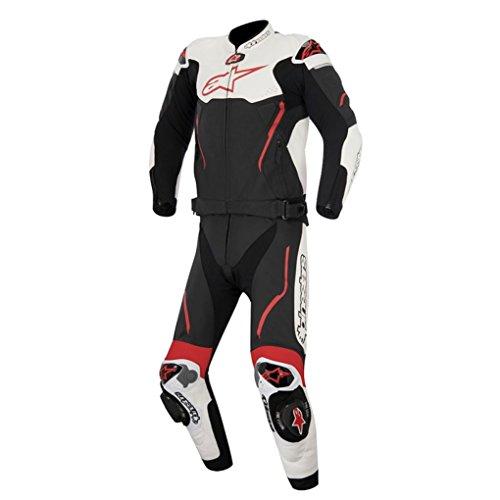 Alpinestars Atem 2PC Leather Motorcycle Suit - BlackRed - 60