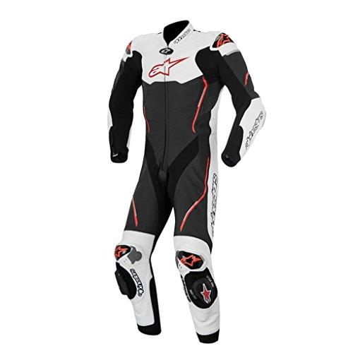 Alpinestars Atem Leather Motorcycle Suit - BlackRed - 50