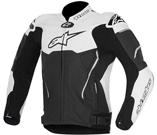 Alpinestars Atem Mens Street Motorcycle Jackets - BlackWhite  56