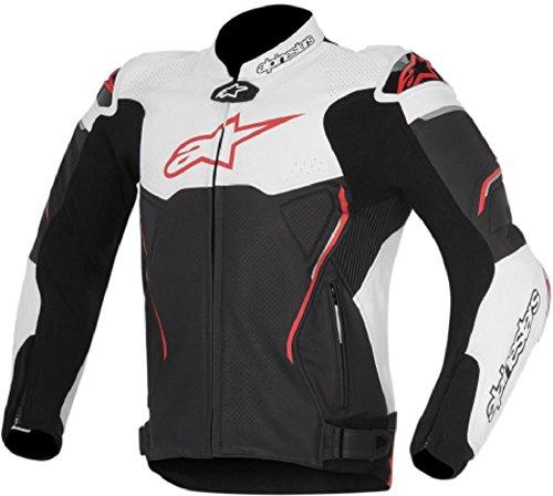 Alpinestars Atem Mens Street Motorcycle Jackets - BlackWhiteRed  50