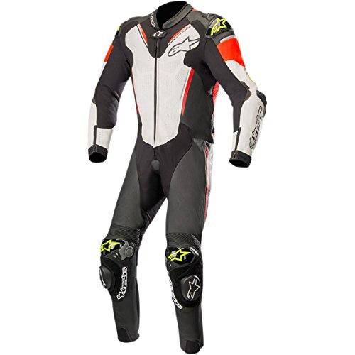 Alpinestars Atem V3 Mens 1-Piece Street Race Suits - BlackWhiteRedYellow  60
