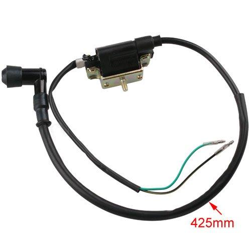 2-wire Ignition Coil For 4-stroke 50cc 70 Cc 90cc 110 Cc 125cc Atvs Dirt Bikes Go Karts Quad 4 Wheeler Buggys