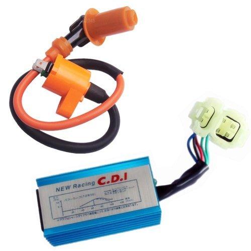 Pcp - Performance Cdi & Ignition Coil For Honda Xr50 Xr70 Xr70r Xr80r Xr100 Xr100r