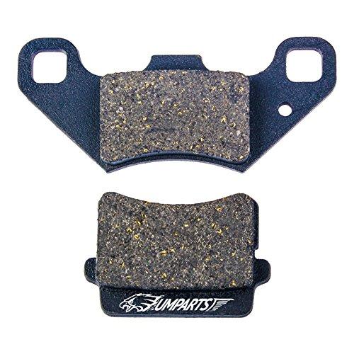 DP1 UMPARTS Rear Disc Brake Pad Shoes for Tao Tao T-Force 4 wheeler 110cc atv-110DD  125cc atv-125DD