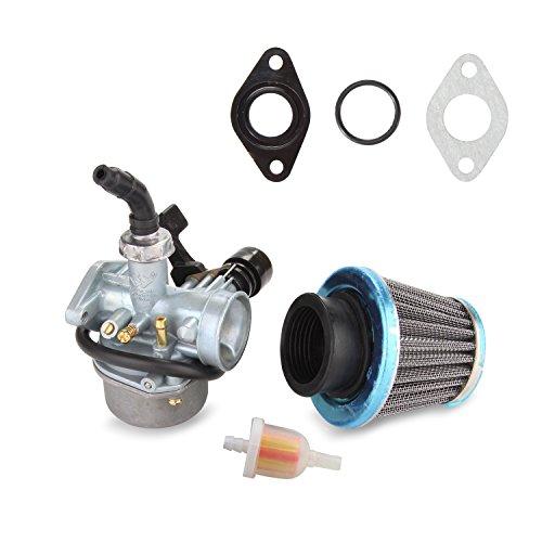 ATV Carburetor PZ19 with Fuel Filter and 35mm Air Filter for 50cc 70cc 80cc 90cc 110cc 125cc ATV Dirt Pit Bike Taotao Honda CRF By LIAMTU