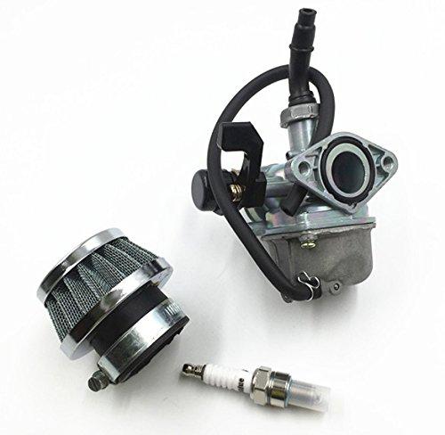 Annpee PZ19 Carburetor with Air Filter for 50cc 70cc 90cc 110cc 125cc Chinese ATV Go-kart