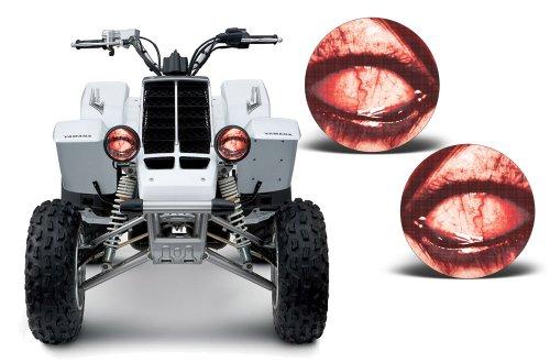 AMR Racing ATV Headlight Eye Graphic Decal Cover for Yamaha Banshee 350 87-05 - Corrupt