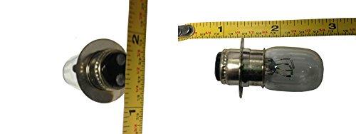 N2 H280701 2ATV Headlight Bulbs 12 Volts-25 AmpsWatts 34-Inch Diameter for Select Yamaha Kawasaki