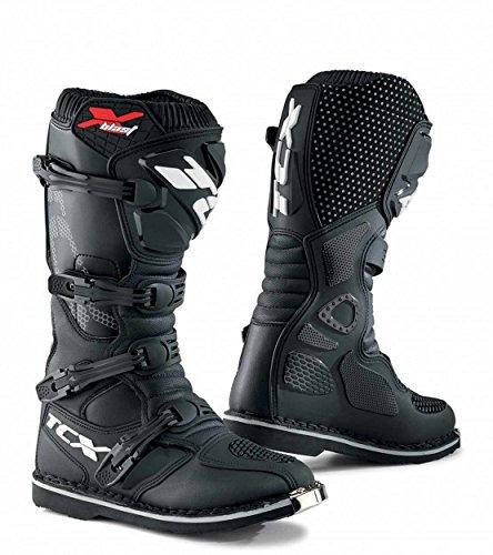 TCX X-Blast MXEnduro Motorcycle Boots Black Mens 12EU 46