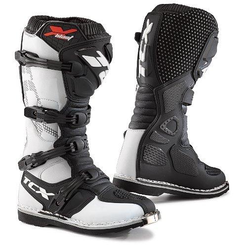 TCX X-Blast MXEnduro Motorcycle Boots White Mens 11EU45