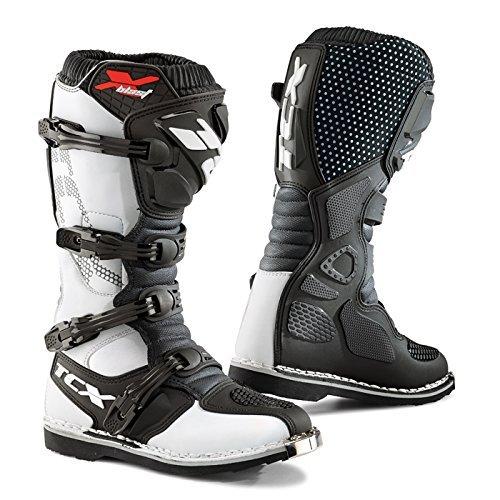 TCX X-Blast MXEnduro Motorcycle Boots White Mens EU38  US5