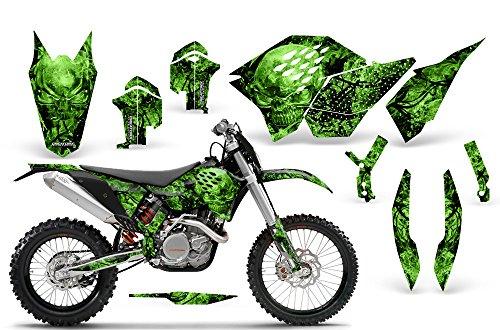 CreatorX KTM Graphics SX SXF 07-10 EXC XCF 08-10-11 XCW 08-10-11 Inferno Green