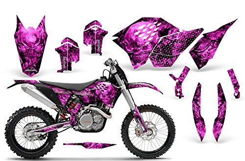 CreatorX KTM Graphics SX SXF 07-10 EXC XCF 08-10-11 XCW 08-10-11 Inferno Pink