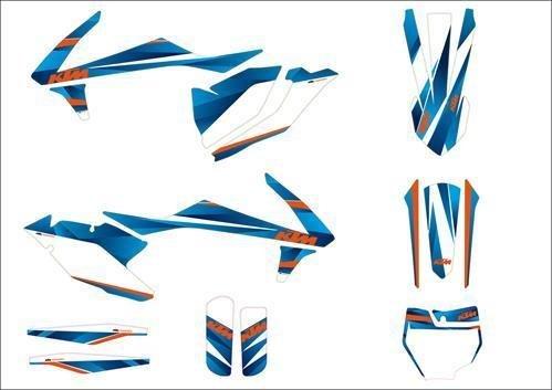 KTM Graphic Kit Style PN ~79008990000