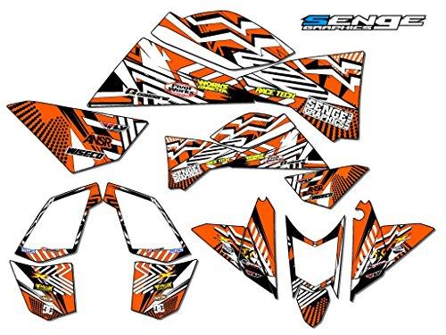 Senge Graphics ALL YEARS KTM 525 XCSX ATV Mayhem Orange Graphics Kit