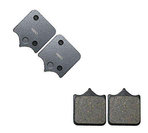 CNBK Front Right Brake Shoe Pads Semi-Metallic fit KTM Dirt Bike 950 SM 05 06 2005 2006 2 Pair4 Pads