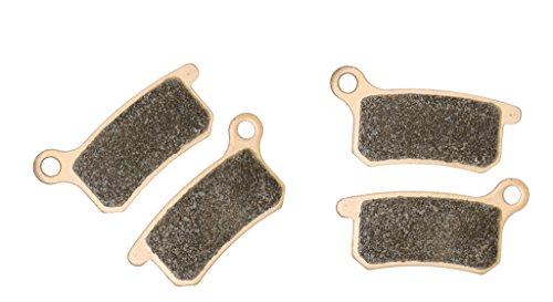 CNBK Sintered HH Brake Pads Set for KTM Dirt Bike SX65 SX 65 cc 65cc 2009 2010 2011 2012 2013 2014 2015 09 10 11 12 13 14 15 4 Pads