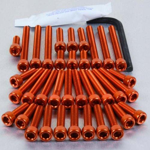 Aluminium Engine Kit KTM 400520 Orange