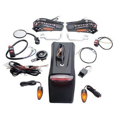 Tusk Motorcycle Enduro Lighting Kit with Handguard Turn Signals -Fits KTM 400 EXC 4 Stroke 2000-2007