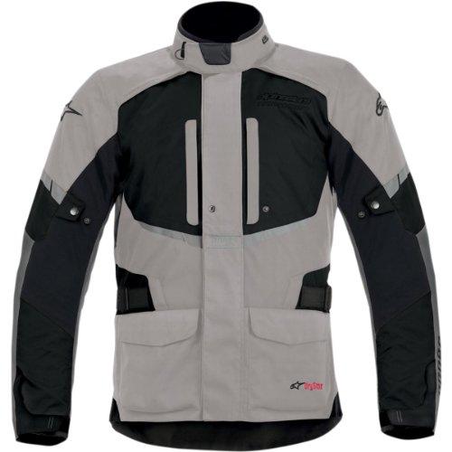 Alpinestars Andes Drystar Mens Street Motorcycle Jackets - GrayBlack  X-Large