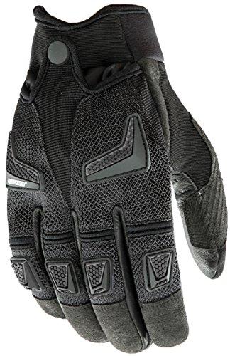 Joe Rocket Hybrid Men's Motorcycle Riding Gloves (black/black, Xx-large)