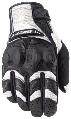 Joe Rocket Men's Phoenix 4.0 Motorcycle Riding Gloves (white/black/white, Large)