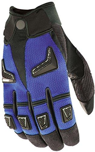 Joe Rocket Mens Hybrid Motorcycle Gloves Blue/black Xxl 2xl