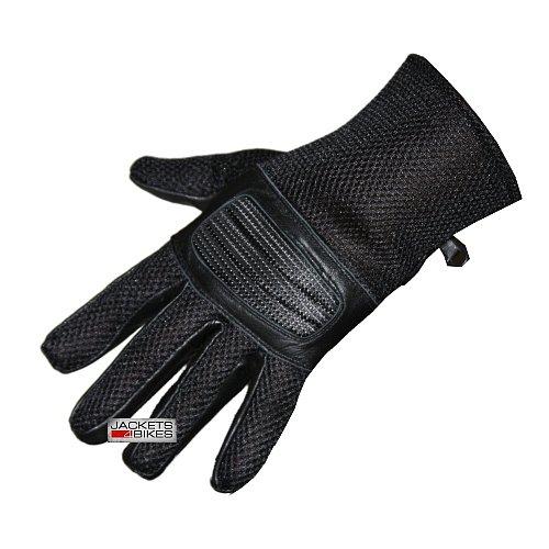 New S14 Summer Mesh Motorcycle Bike Gloves Black