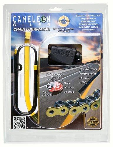 Cameleon Chain Oiler Kit - Chain Lubricator For Motorcycle, Atv's