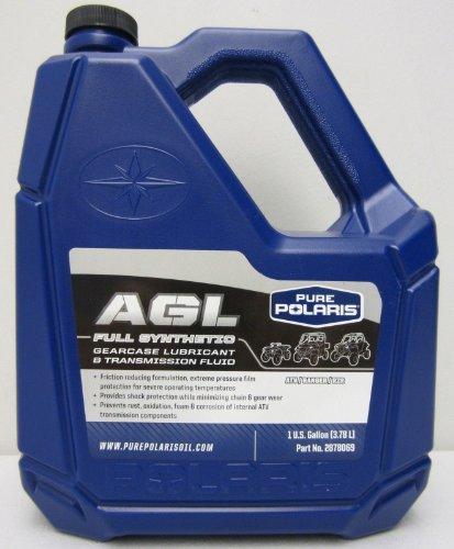 Polaris AGL Plus Synthetic Gearcase Oil Lube LubricantTransmission Fluid Gallon