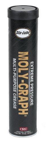 Sta-lube Sl3330 Moly-graph Extreme Pressure Multi-purpose Lithium Grease - 14 Oz.