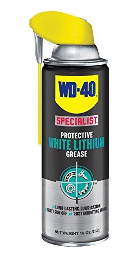 Wd  Specialist Lithium Grease Spray, 10 Oz, White